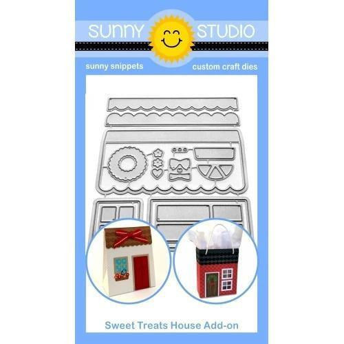Sunny Studio Stamps - Sweet Treat House Die