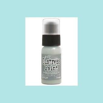 Ghost White Tim Holtz Distress Paints - Dabber Top