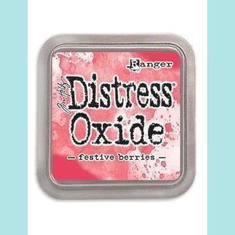 Ranger - Tim Holtz - Distress Oxide Ink Pad & Re-inker FESTIVE BERRIES