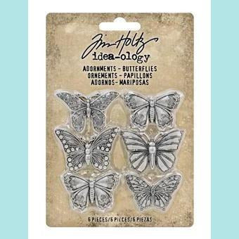 Tim Holtz - Idea-ology Adornments, Butterflies