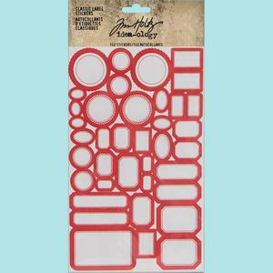 Tim Holtz Idea-ology: Classic Label Stickers