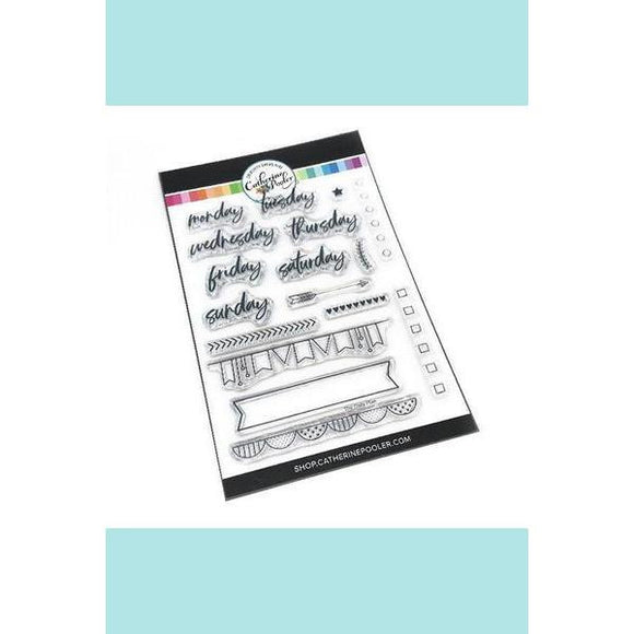 Catherine Pooler - Daily Plan Stamp Set