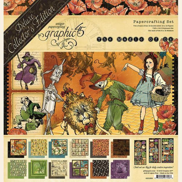 Graphic 45 - Magic of Oz - Deluxe Collector's Edition