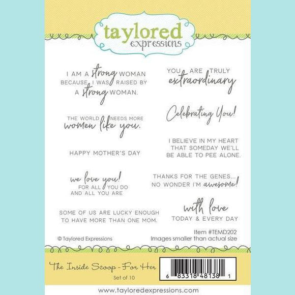 Taylored Expressions - The Inside Scoop - For Her