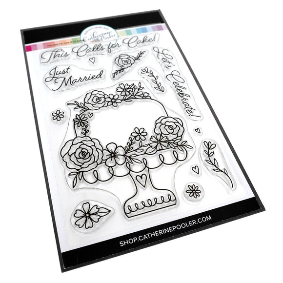 Catherine Pooler - This Calls for Cake Stamp Set