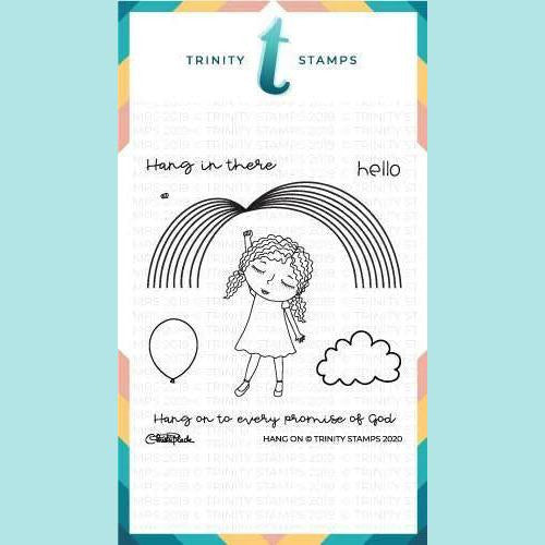 Trinity Stamps - 4x4 Hang On Stamp Set