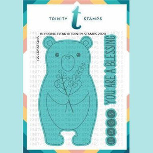 Trinity Stamps - Blessing Bear Coordinating Die Set
