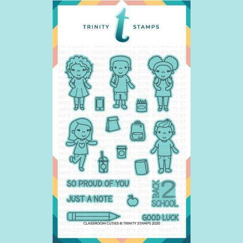 Trinity Stamps - Classroom Cuties Coordinating Die Set