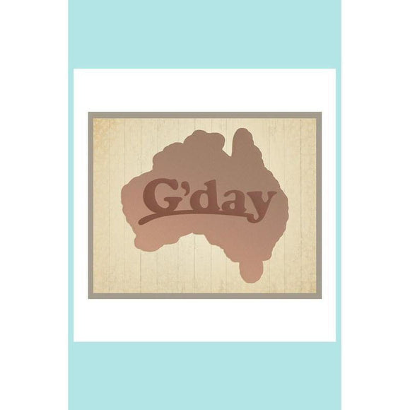Ultimate Crafts Die - G'day - Australian Collection Die