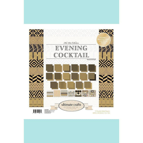 Ultimate Crafts Evening Cocktail Paper Pad