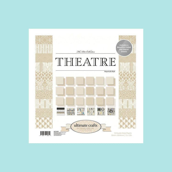 Ultimate Crafts Evening Theatre Paper Pad - Card Stock