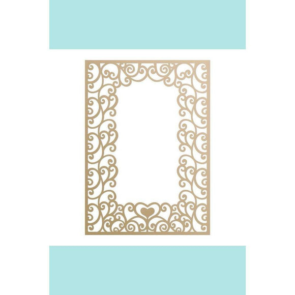 Couture Creations - Special Occasions - Loving Flourishes Frame Die