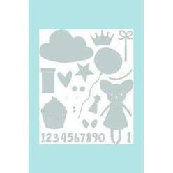 Sizzix Thinlits Die Set 15PK - Birthday Girl By My Life Handmade