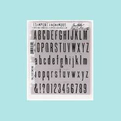 Tim Holtz - Stampers Anonymous Tall Text