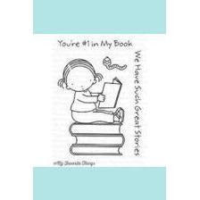 My Favorite Things- Pure Innocence Bookworm Stamp