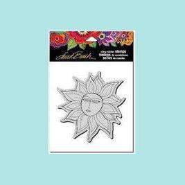 Stampendous Cling Stamp Sister Sun - Laurel Burch
