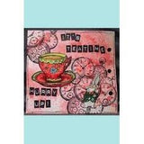Stampotique - Teacup - Wood Mounted Stamps