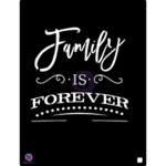 Prima Marketing Family is Forever Stencil