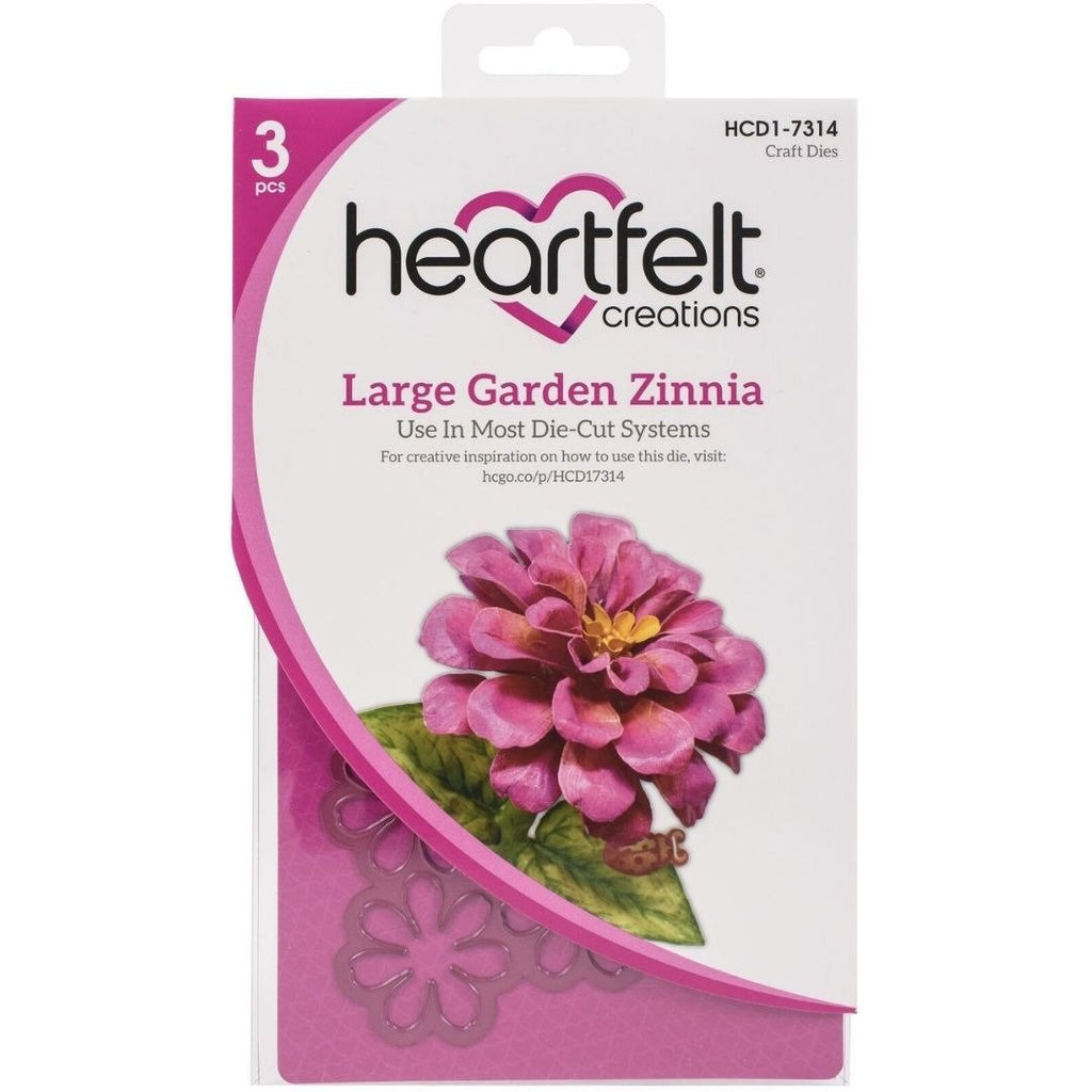 Heartfelt Creations - Large Garden Zinnia Die