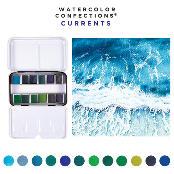Prima Marketing - Watercolor Confections - Currents