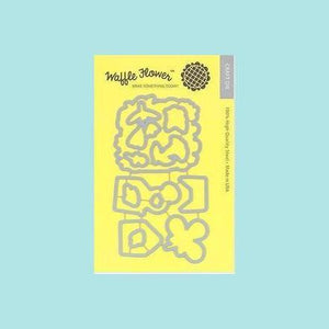 Light Goldenrod Waffle Flowers - Enveloper Me Combo Stamp & Die