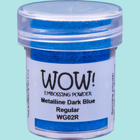 WOW! Embossing Powder - WG02 Metalline Dark Blue Regular