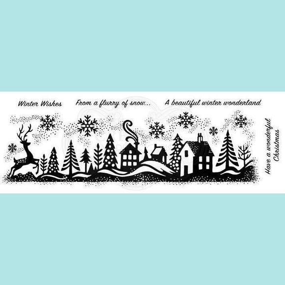 Woodware - Clear Stamp - Winter Wonderland