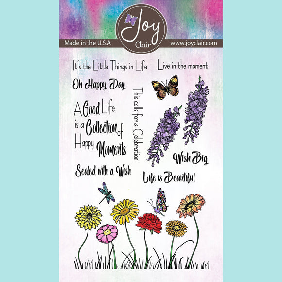 Joy Clair - Wish Big | Clear Stamps