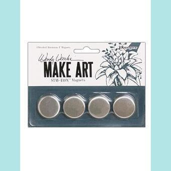 Wendy Vecchi - MAKE ART Stay-tion Replacement Magnets 4pc
