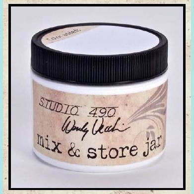 Stencils Studio 490 - Wendy Vecchi - Mix & Store Jar