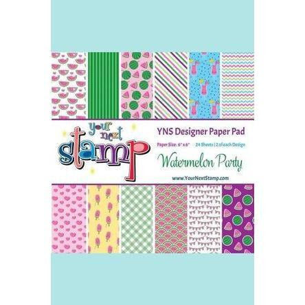 Your Next Stamp Watermelon Party 6x6 Paper Pad