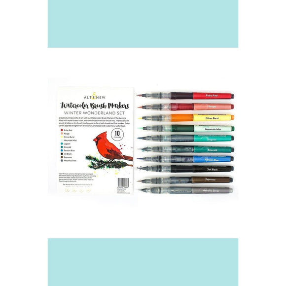 Altenew Watercolour Brush Markers -  Winter Wonderland  Set