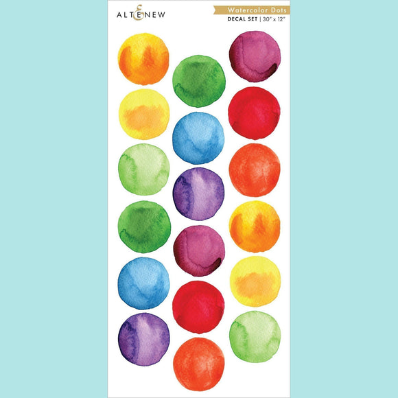 Altenew - Watercolor Dots Decal Set