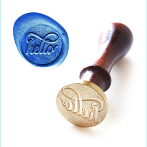 Altenew - Wax Seal Stamp - Just Hello