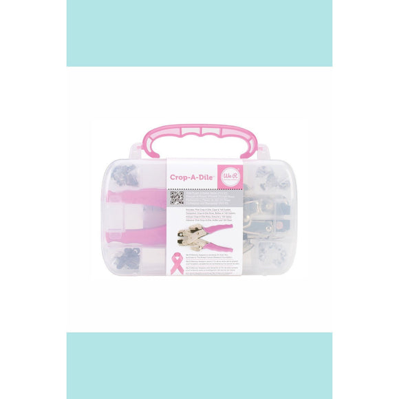We R Memory Keepers - WRMK - Pink Case and Crop-A-Dile Punch