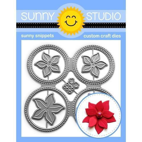 Sunny Studio Stamps - Window Quad Circle Die