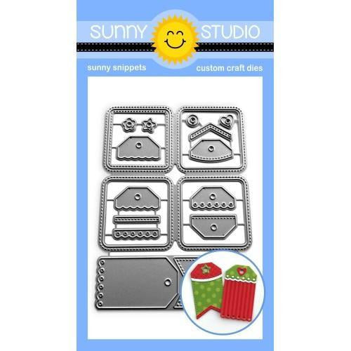 Sunny Studio Stamps - Window Quad Square Die