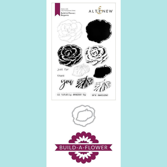 Altenew - Build-A-Flower - Begonia Stamp and Die
