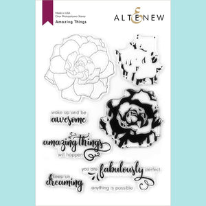 Altenew - Amazing Things Stamp Set