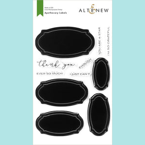 Altenew  - Apothecary Labels Stamp Set