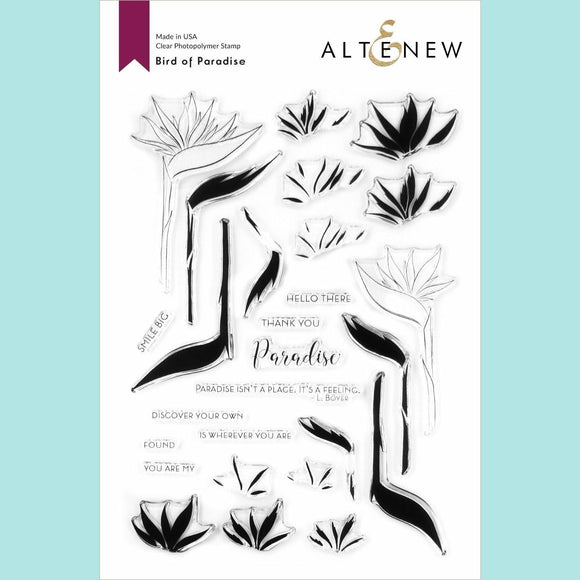 Altenew  - Bird of Paradise Stamp Set