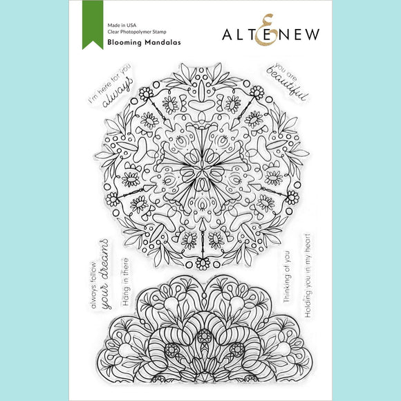 Altenew  - Blooming Mandalas Stamp Set