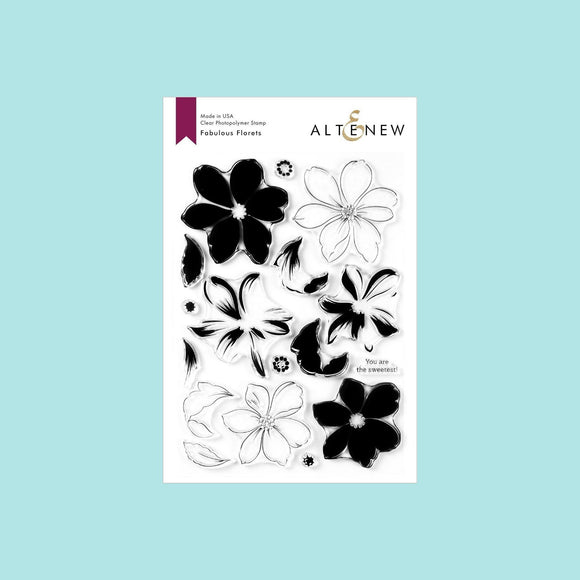 Altenew - Fabulous Florets Stamp Set