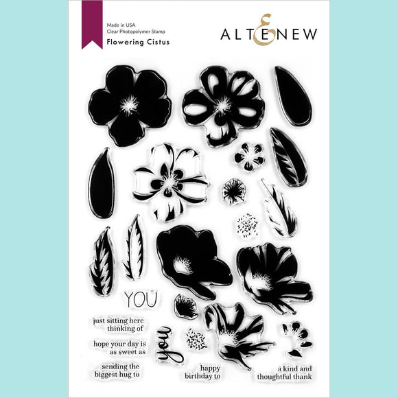 Altenew - Flowering Cistus Stamp Set
