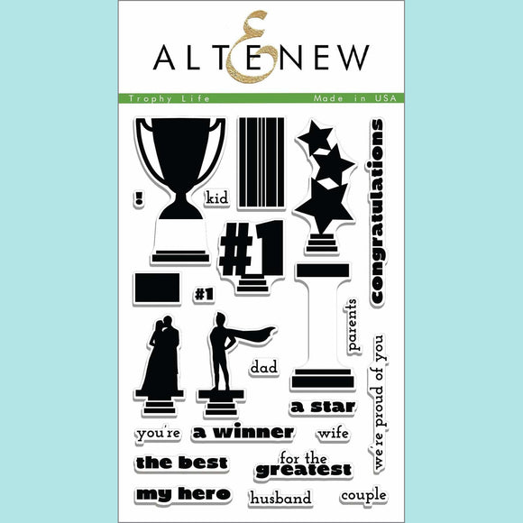 Altenew - Trophy Life Stamp Set