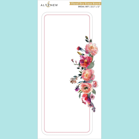 Altenew - Floral Dry Erase Board Decal Set
