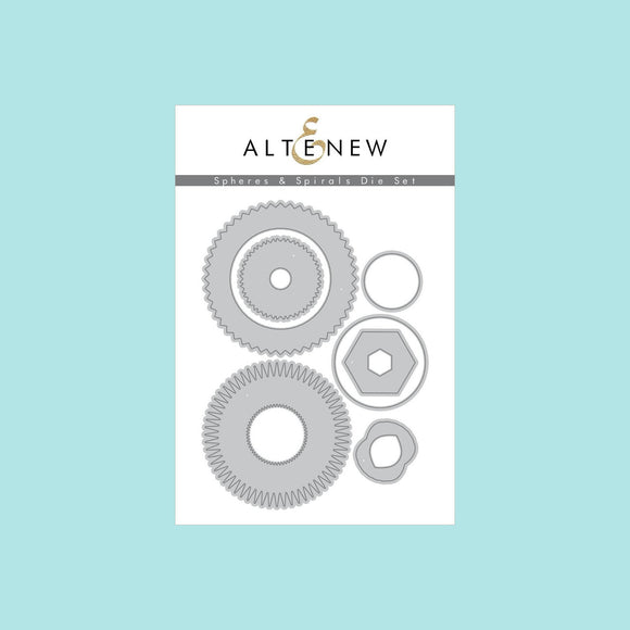 Altenew - Spheres & Spirals Die Set