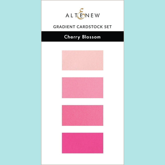 Cherry Blossom - Gradient Cardstock Set