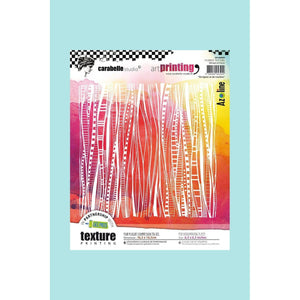 "Copy of Carabelle Studio Art Printing  - 6"" Square -  De Lignes Et De Courbes by Azoline - Lines and Curves"