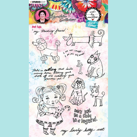 Art by Marlene - Signature Collection 5.0 - Clear Stamp Set # 50